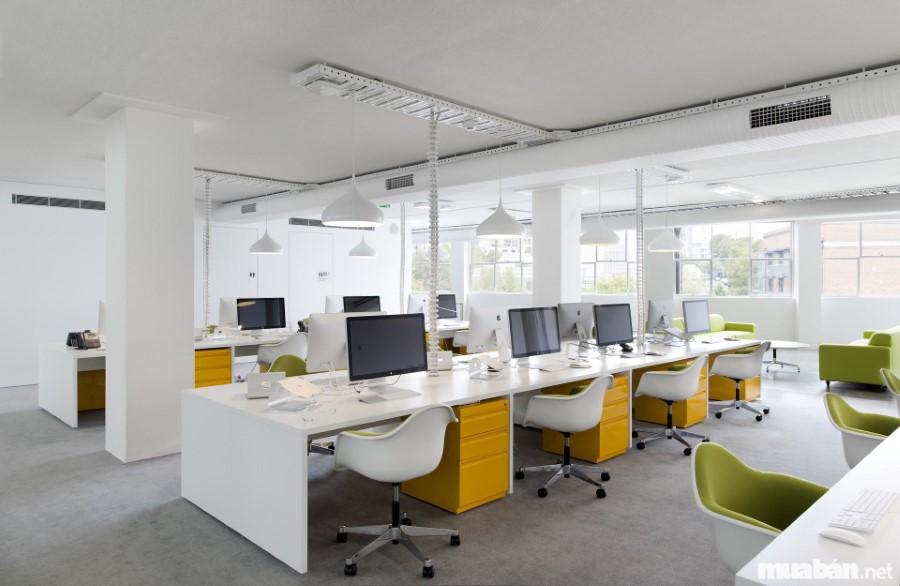 Tham khảo ý kiến của các kiến trúc sư để tạo nên không gian làm việc lành mạnh, đầy năng lượng