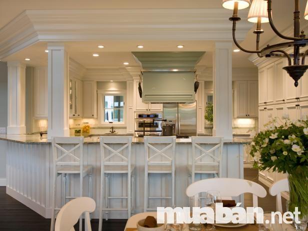 Thiết kế quầy bar gia đình cần phù hợp với không gian để tạo cảm giác hài hòa