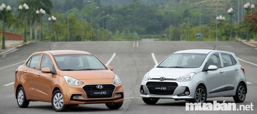 Hyundai Grand I10 Phiên Bản Sedan Và Hatchback