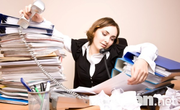 Việc làm hành chính: Hành chính văn phòng rất vất vả