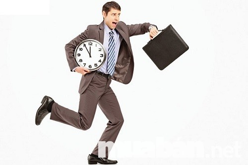 Việc làm hành chính: Đúng giờ là một điều cực kì quan trọng
