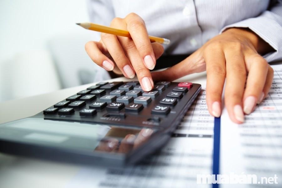 Tính toán chi phí dự trù
