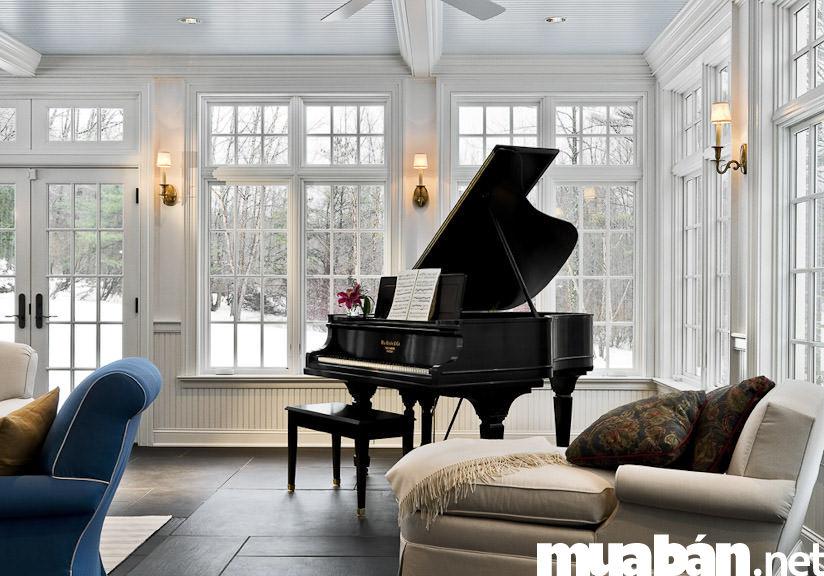 Đàn Piano nằm
