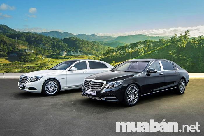 Mercedes S400 và S500 Maybach là hai phiên bản phù hợp với những doanh nhân thành đạt