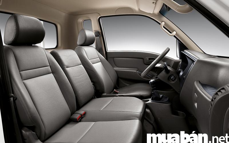 Các thiết bị nội thất trong xe đều mang dáng vẻ sang trọng