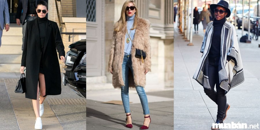 Bí quyết phối quần áo mùa đông hợp mốt
