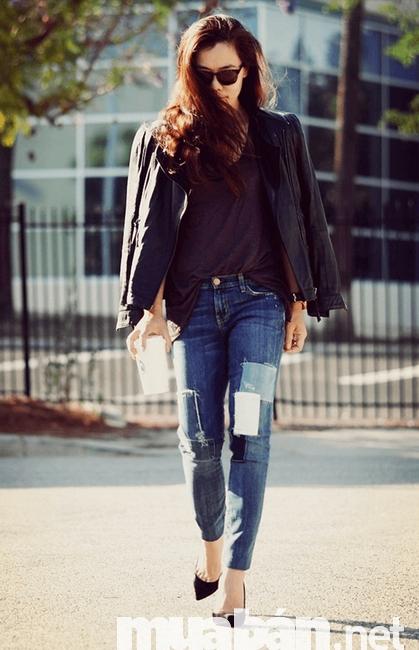 Mẫu quần Jean nữ