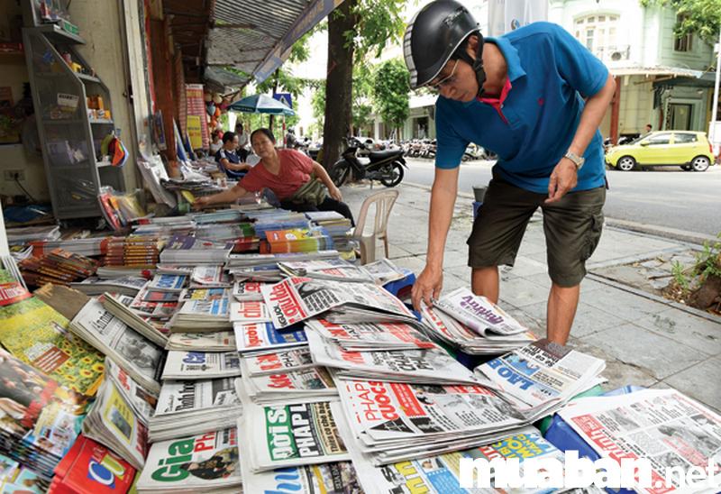 Vẫn có hàng triệu người đọc báo mỗi ngày