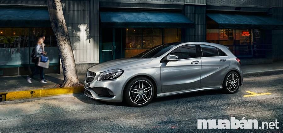 Mercedes A-Class có thiết kế nhỏ gọn, thể thao và được trang bị hệ thống full Led ấn tượng