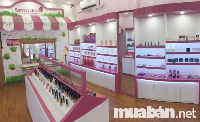 Sammi Shop thuộc chuỗi cửa hàng mỹ phẩm nổi tiếng ở Sài Gòn nơi các chị em đều tin dùng