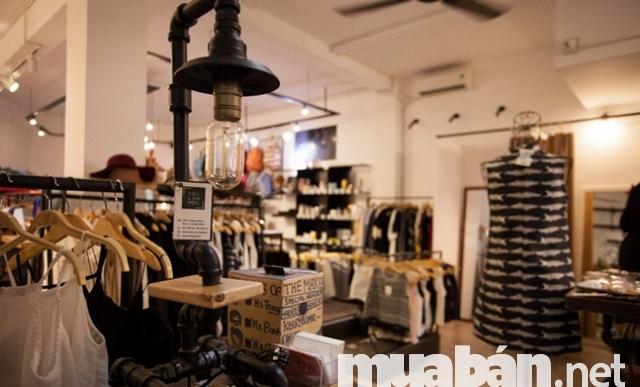 những shop thời trang đẹp tại tphcm