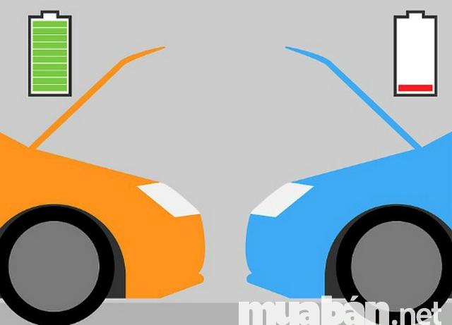 cách sạc bình ắc quy xe ô tô