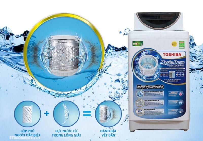 Máy giặt Toshiba đến từ Nhật Bản có chất lượng rất tốt