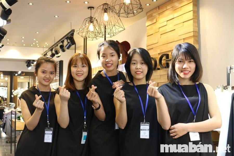 Nghệ thuật tuyển nhân viên bán hàng thời trang