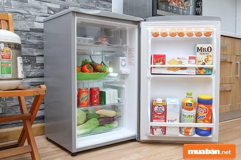Aqua 90 Lít Aqr-D99Fa Là Dòng Tủ Lạnh Mini Có Thiết Kế Nhỏ Gọn, Phù Hợp Với Những Không Gian Vừa Và Nhỏ.