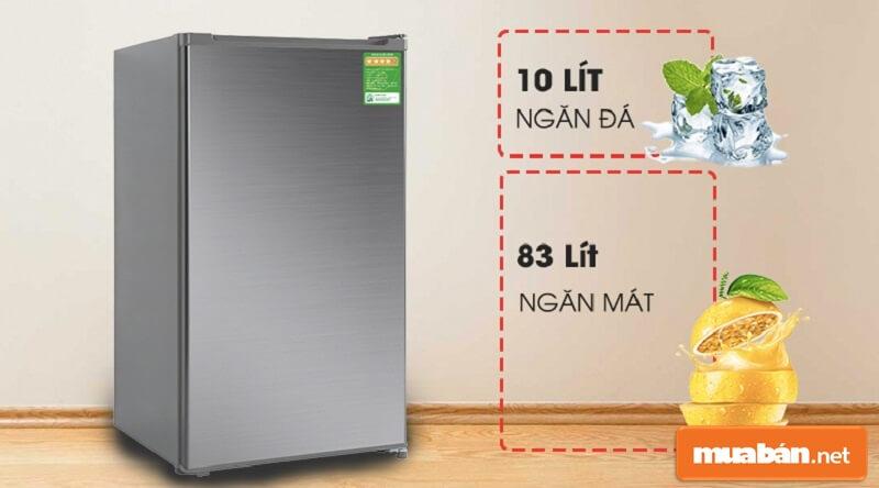 Tủ lạnh mini Beko 93 lít RS9051P có giá bán chỉ khoảng hơn 2 triệu một chút.