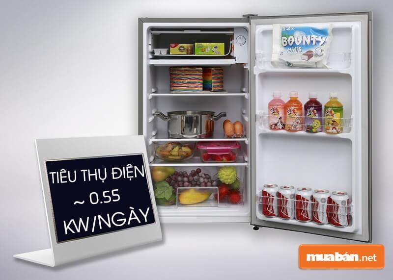 Tủ Lạnh Mini Electrolux 85 Lít Eum0900Sa Rất Tiện Kiệm Điện Năng