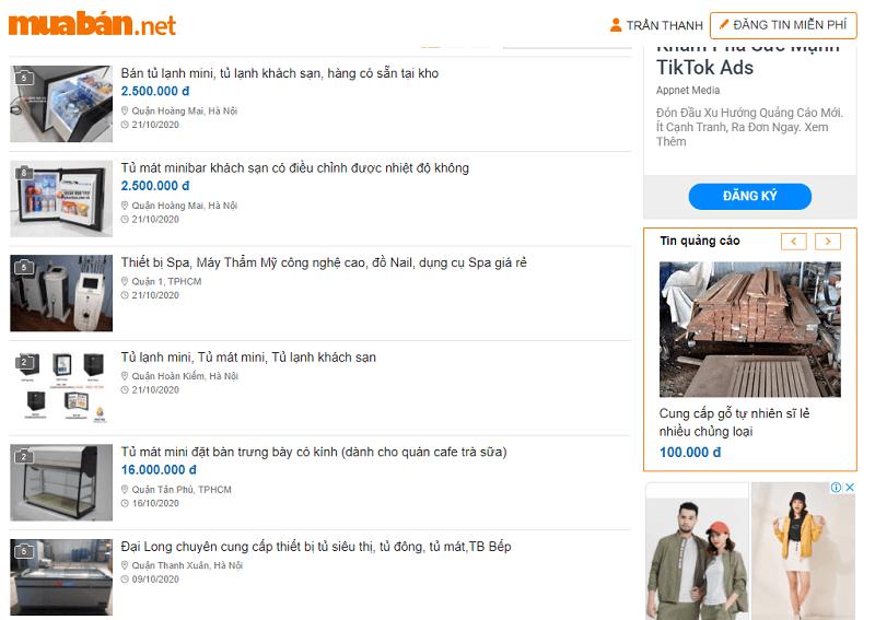 Nếu bạn đang băn khoăn chưa biết nên tìm mua tủ lạnh cũ ở đâu thì hãy truy cập ngay muaban.net.