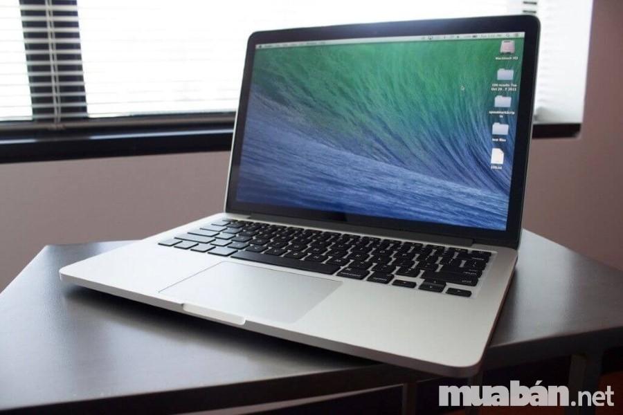 Macbook Pro 13 Inch Retina sở hữu nhiều ưu điểm của một laptop siêu phẩm