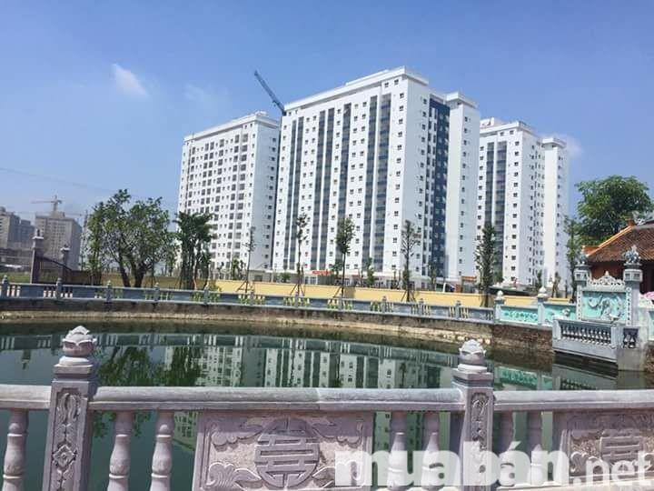Chung cư Thanh Hà được xây dựng thanh 3 tòa căn hộ liền kề