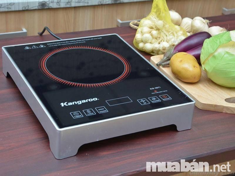 Bếp hồng ngoại Kangaroo nổi tiếng với giá rẻ và hoạt động ổn định