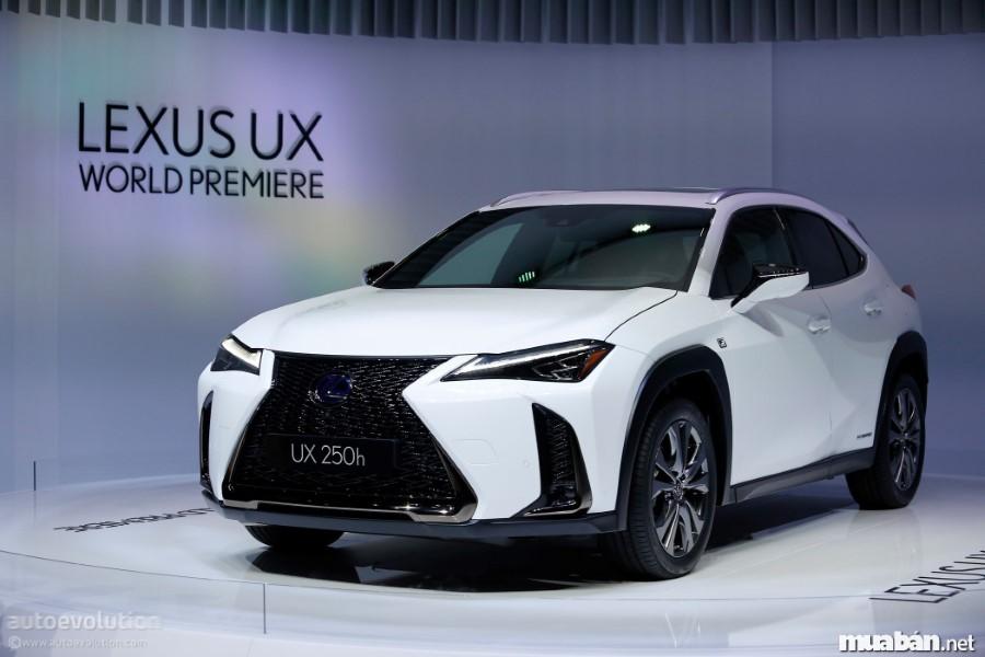 Lexus UX – trải nghiệm mới mẻ của thương hiệu xe Lexus