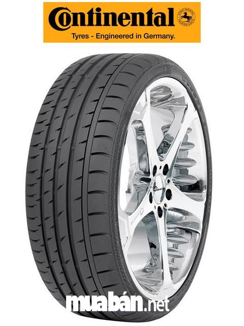 Đặc trưng của lốp Continental là độ bám tốt, tuy nhiên lốp khá mỏng