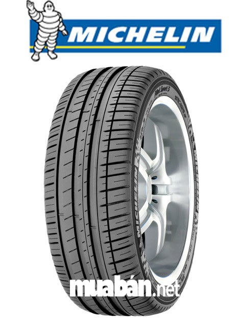 Lốp xe Michelin có thiết kế khá bắt mắt