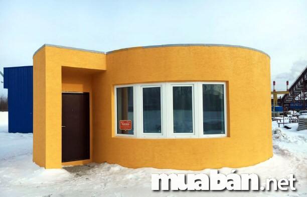 Nhà in 3D ứng dụng công nghệ in 3D
