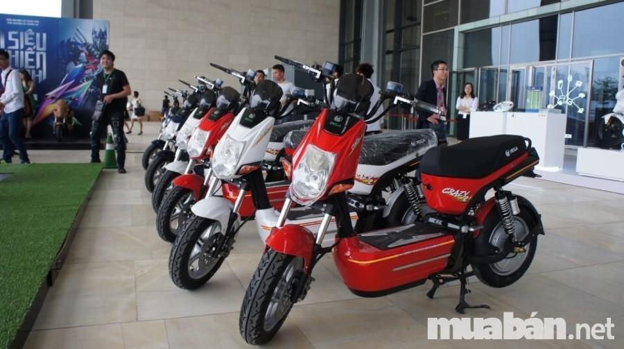 Xe máy điện Pega nổi tiếng nhờ các công nghệ hiện đại