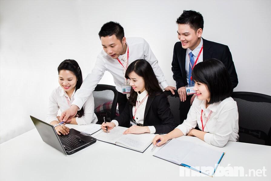 Khi lựa chọn môi trường làm việc, các bạn trẻ cần quan tâm đến đồng nghiệp