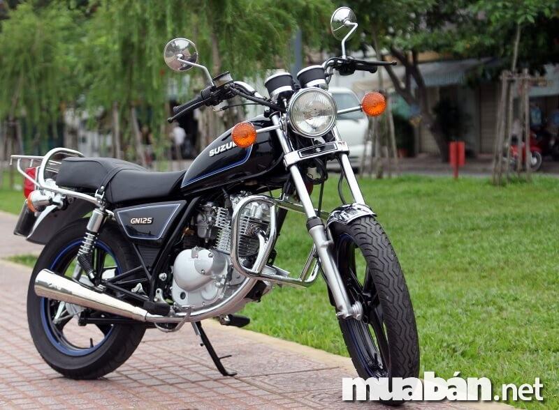 Nét hoài cổ trong cuộc sống hiện đại cùng Suzuki GN125