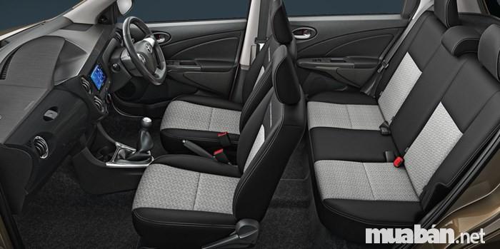 Nội Thất Toyota Etios Cross X-Edition