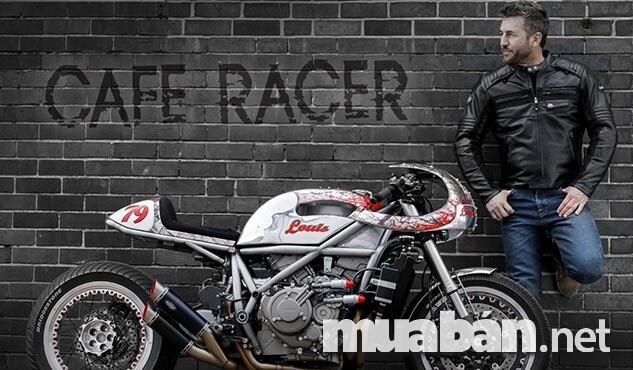 Cafe racer và lưu ý cách độ dáng xe racer