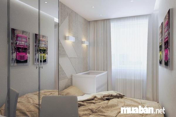 Thiết kế phòng ngủ chung cư 50 m2