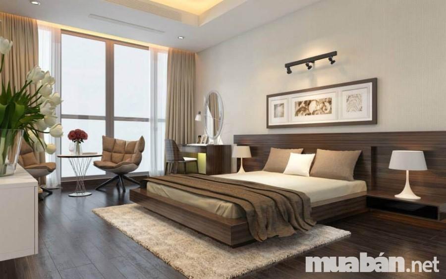 Ánh sáng trong phòng ngủ nên ưu tiên chọn các loại đèn bàn cho ánh sáng nhẹ nhàng, êm dịu