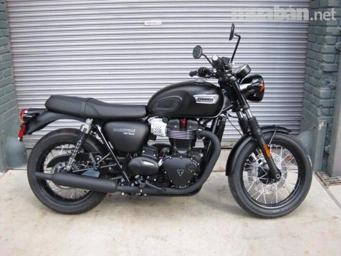 T100 là ông vua của xe mô tô với động cơ mạnh mẽ
