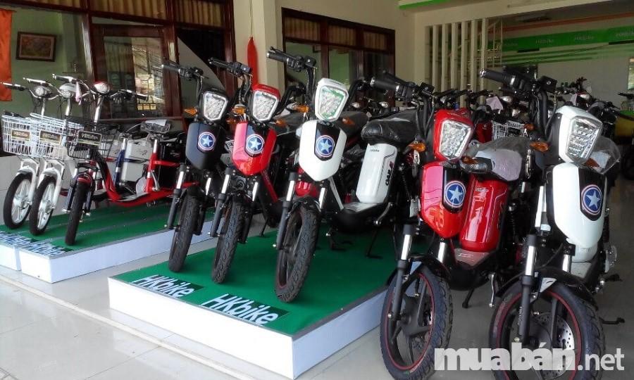 Các xe đạp điện Pega được phân phối ở nhiều tỉnh trên cả nước
