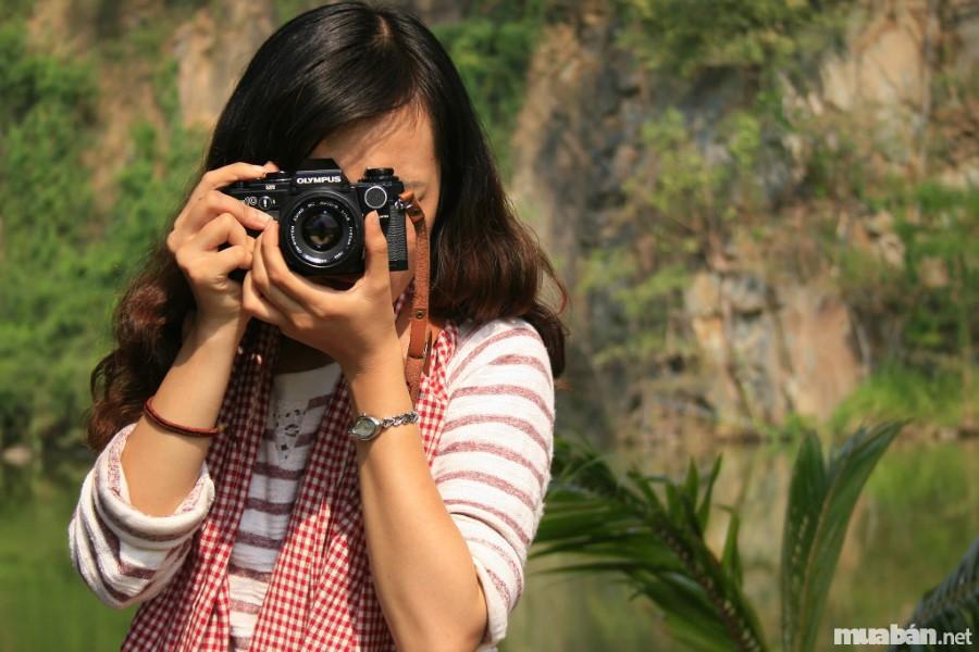 Các bạn trẻ phải rèn luyện hàng ngày để chụp ảnh chuyên nghiệp hơn