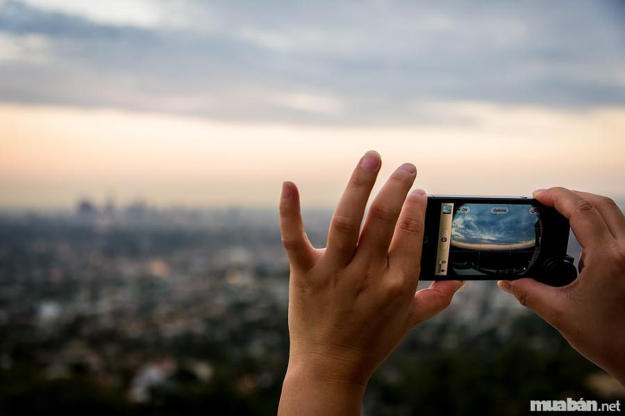 Chụp ảnh phong cảnh đẹp với điện thoại là điều đơn giản