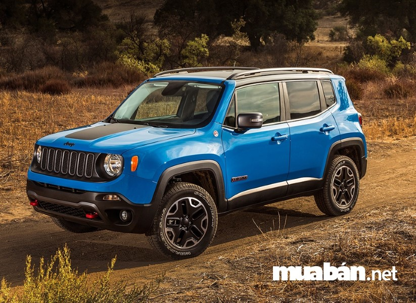 Jeep Renegade có vẻ ngoài nhỏ nhắn nhưng khỏe khoắn và độ an toàn cao.