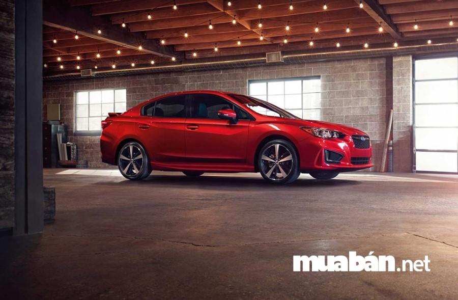 Subaru Impreza vận hành mạnh mẽ và an toàn, thiết kế đẳng cấp, dễ lái.