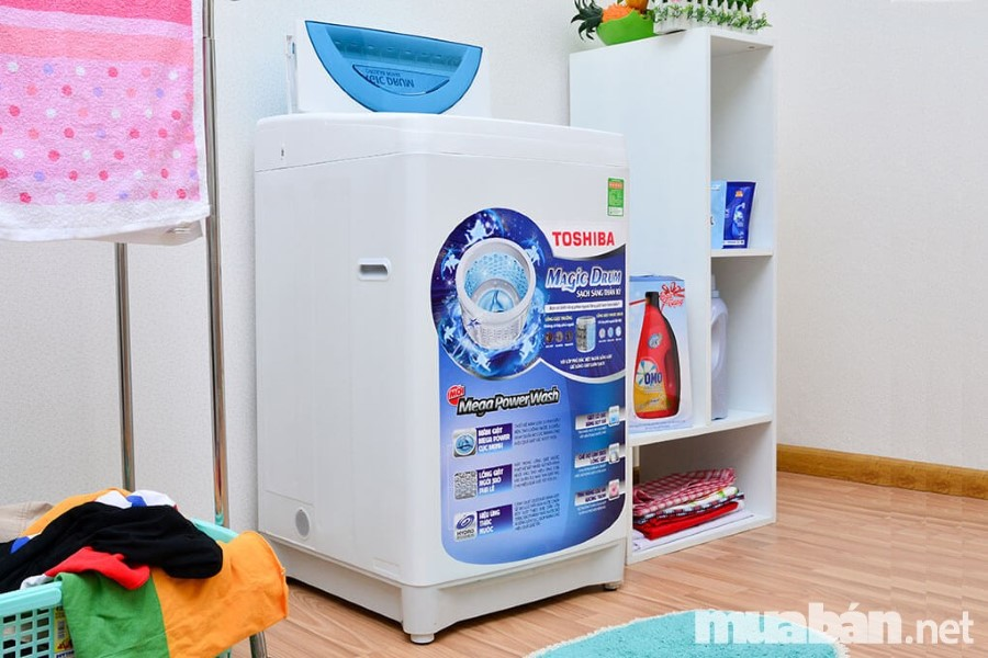Không thể bỏ qua máy giặt Toshiba khi chọn mua