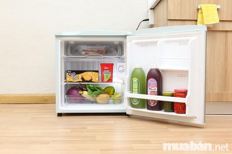 Bạn nên lựa chọn các dòng tủ lạnh có ngăn đông và ngăn lạnh riêng