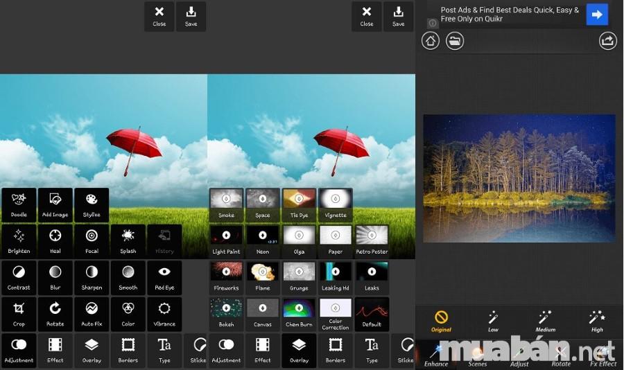 Xử lý hậu kỳ bằng các ứng dụng giúp bức ảnh đẹp và thu hút