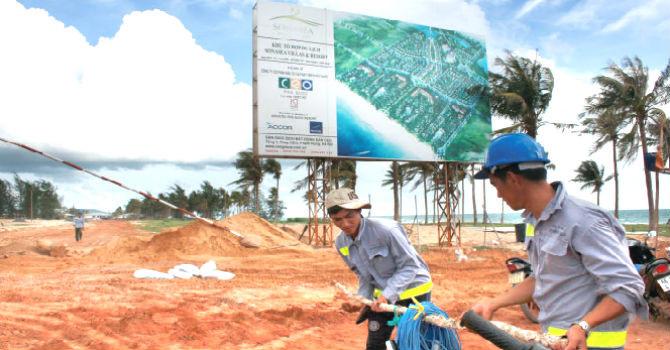 Phú Quốc ngàng càng nhiều các dự án BĐS được xây dựng