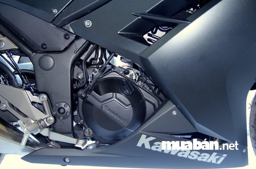 Kawasaki Ninja 300 được thiết kế trau chuốt đến từng chi tiết nhỏ.