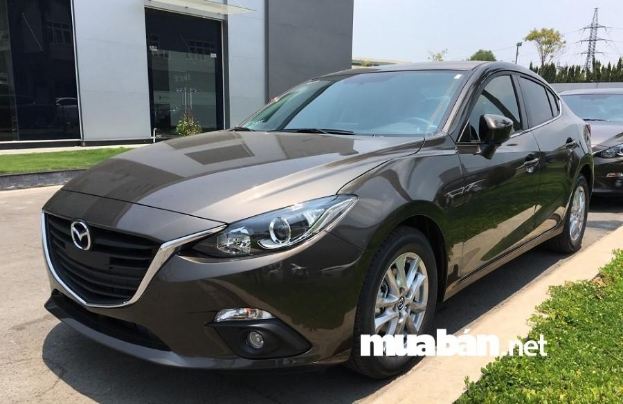 Mazda 3 cũ có giá trị khấu hao thấp.