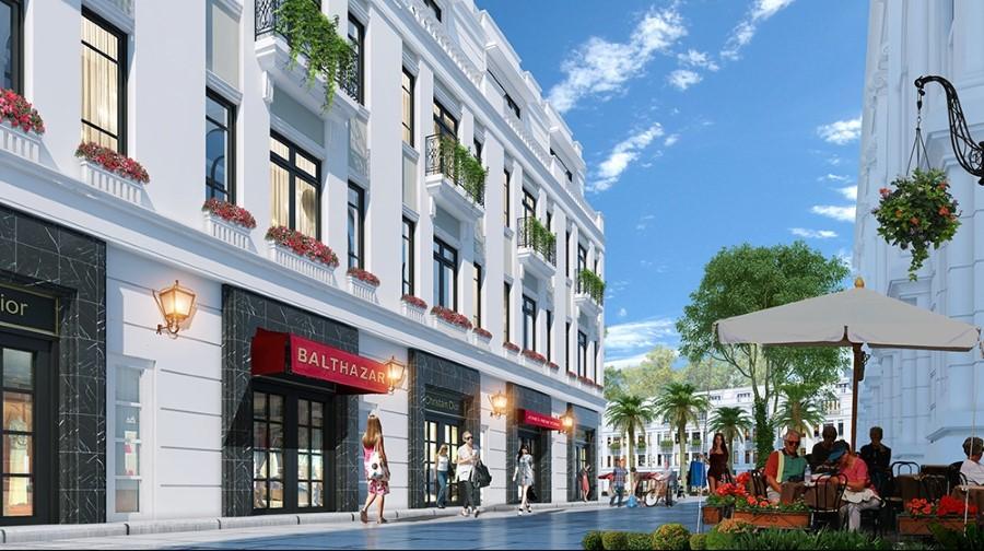 Phối cảnh ShopHouse Sun Premier Phú Quốc