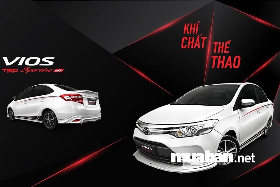 Toyota Vios phiên bản 2018 đầy tính thể thao và sang trọng.